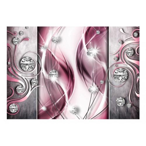 Fotomurale - Pink and Diamonds - Quadri e decorazioni