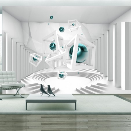 Fotomurale - Corridor of Geometry - Quadri e decorazioni