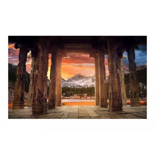 Fotomurale - Sentiero di templi rupestri - Quadri e decorazioni