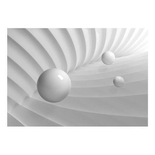 Fotomurale - Simmetria bianca - Quadri e decorazioni