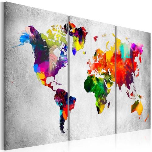 Quadro - Artistic World - Triptych - Quadri e decorazioni