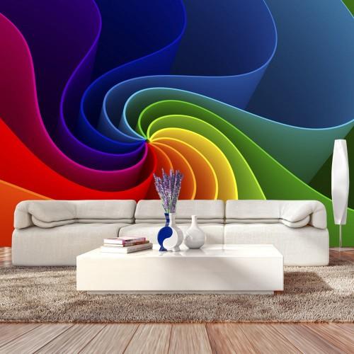 Fotomurale - Colorful Pinwheel - Quadri e decorazioni