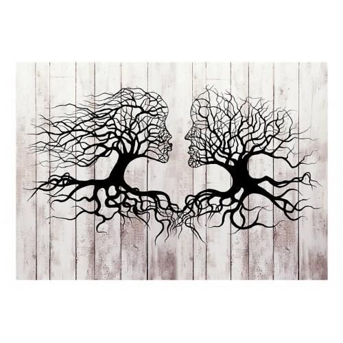 Fotomurale - Bacio degli alberi - Quadri e decorazioni