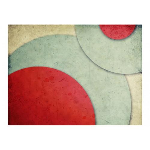 Fotomurale - circoli - retrò - Quadri e decorazioni