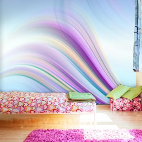 Fotomurale - Rainbow abstract background - Quadri e decorazioni