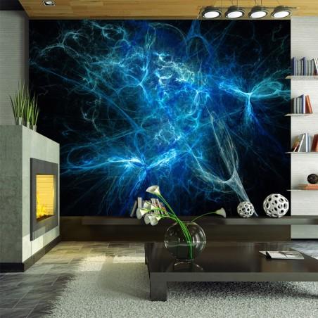 Fotomurale - Fulmini azzurri - Quadri e decorazioni