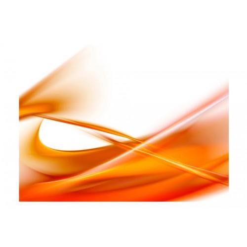 Fotomurale - astratto - arancione - Quadri e decorazioni