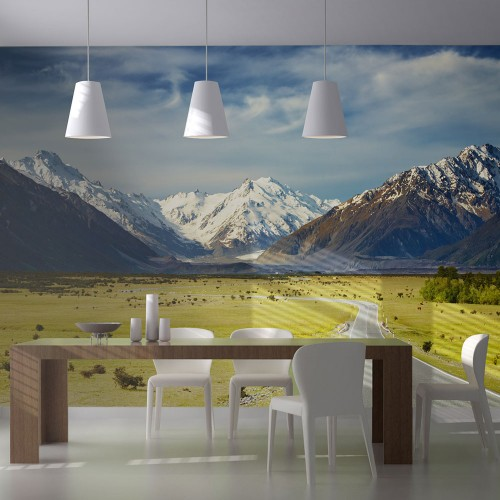 Fotomurale - Southern Alps, New Zealand - Quadri e decorazioni