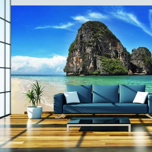Fotomurale - Esotico paesaggio, spiaggia Railay, Thailandia - Quadri e decorazioni