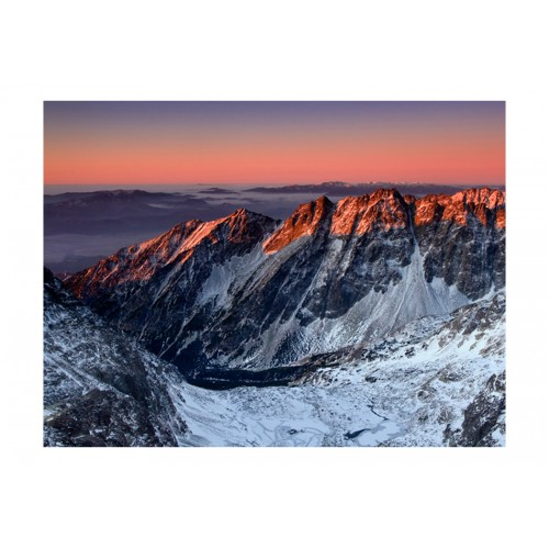 Fotomurale - Beautiful sunrise in the Rocky Mountains - Quadri e decorazioni