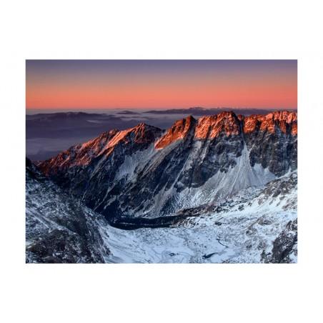 Fotomurale - Beautiful sunrise in the Rocky Mountains - Quadri e decorazioni