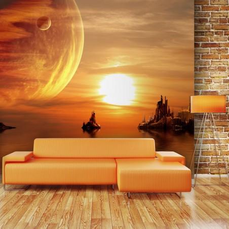 Fotomurale - Fantasy sunset - Quadri e decorazioni