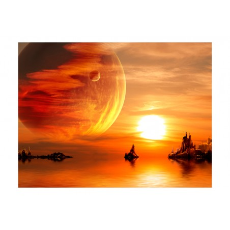 Fotomurale - Fantasy sunset - Quadri e decorazioni