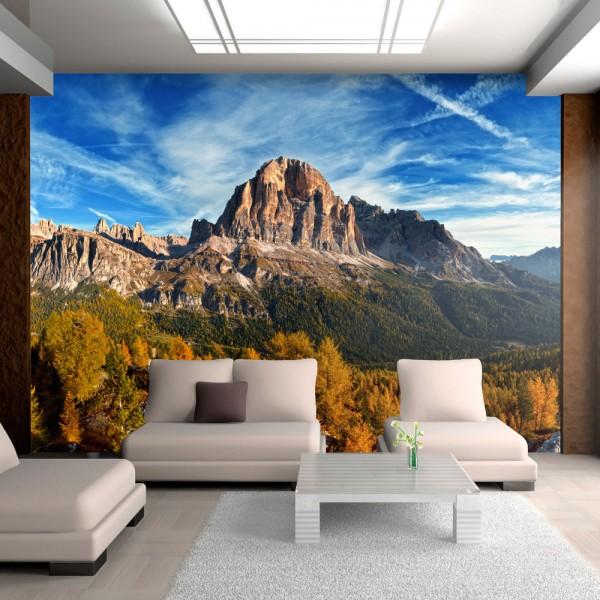 Fotomurale - Vista panoramica delle Dolomiti italiane - Quadri e decorazioni