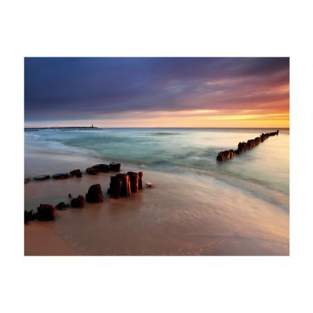 Fotomurale - spiaggia - sorgere del sole - Quadri e decorazioni