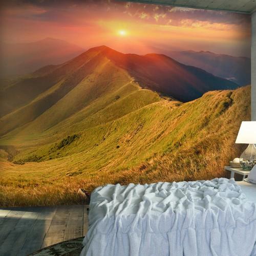 Fotomurale - Paesaggio d'autunno, Carpazi - Quadri e decorazioni