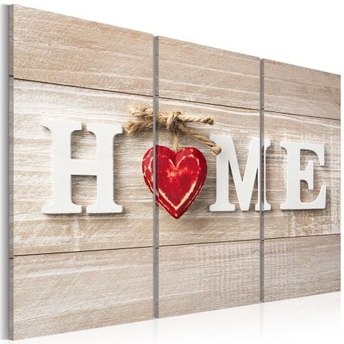 Quadro - The Heart of the Home - Quadri e decorazioni