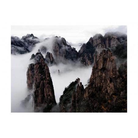 Fotomurale - Mare di nubi, monti Huangshan, Cina - Quadri e decorazioni