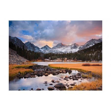 Fotomurale - Paesaggio primaverile in montagna - Quadri e decorazioni