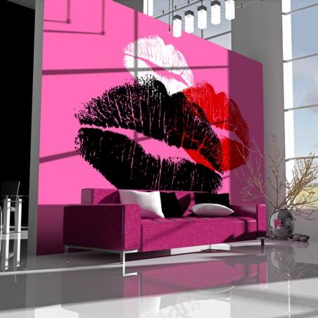 Fotomurale - Tre baci - Quadri e decorazioni