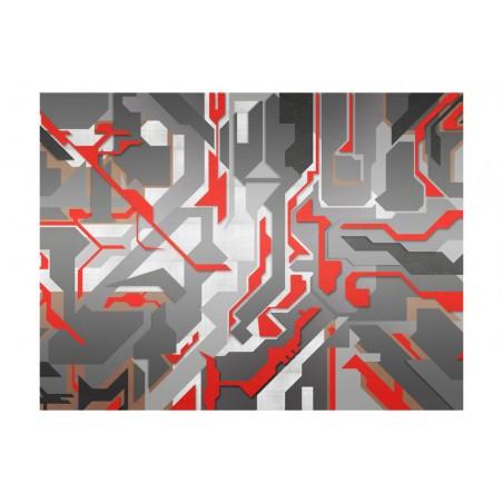 Fotomurale - Sentieri geometrici astratti - Quadri e decorazioni
