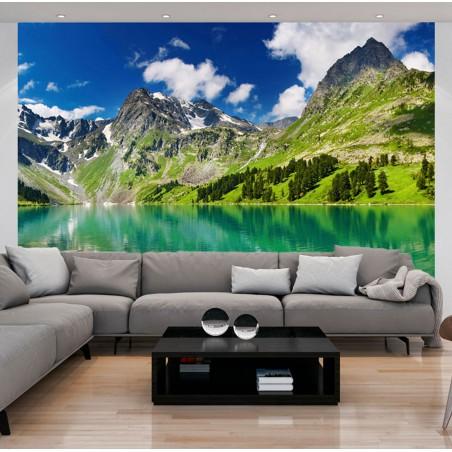 Fotomurale - Lago di montagna - Quadri e decorazioni