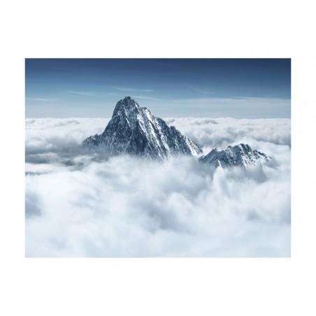 Fotomurale - Montagna tra le nuvole - Quadri e decorazioni