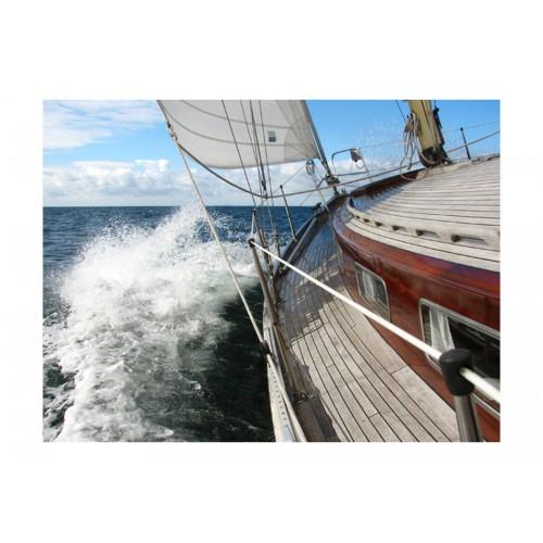 Fotomurale - Nave in mare aperto - Quadri e decorazioni
