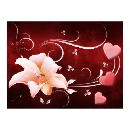 Fotomurale - Messaggio d'amore - Quadri e decorazioni
