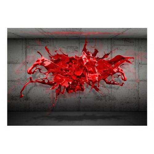 Fotomurale - Red Ink Blot - Quadri e decorazioni