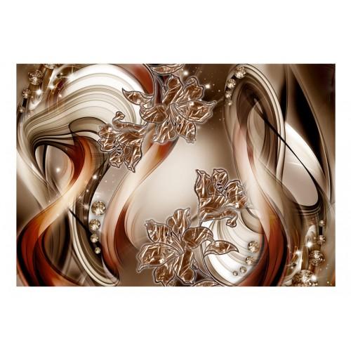 Fotomurale - Brown Symphony - Quadri e decorazioni