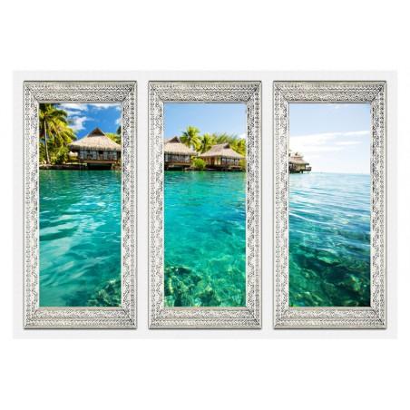 Fotomurale - Isola solitaria - Quadri e decorazioni