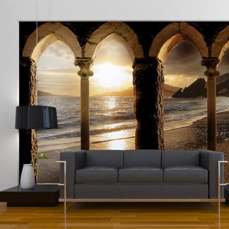 Fotomurale - Castello sulla sabbia - Quadri e decorazioni