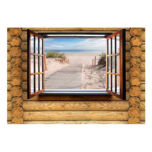 Fotomurale - Beach outside the window - Quadri e decorazioni
