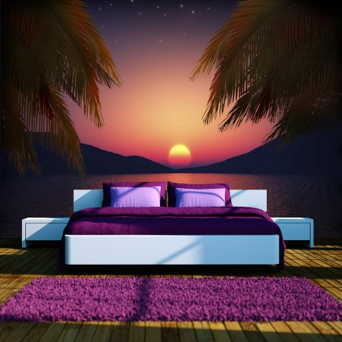 Fotomurale - Romantic evening on the beach - Quadri e decorazioni
