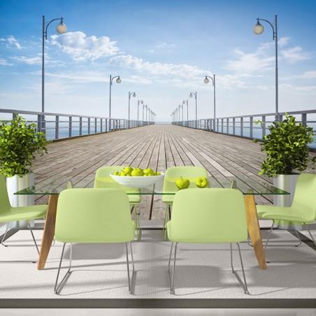 Fotomurale - On the pier - Quadri e decorazioni