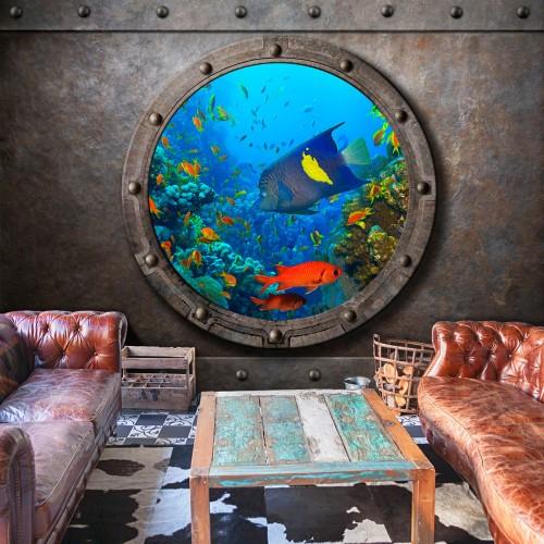 Fotomurale - Submarine Window - Quadri e decorazioni