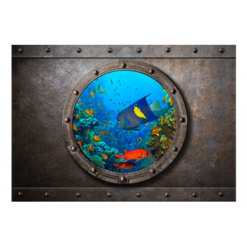 Fotomurale - Submarine Window - Quadri e decorazioni