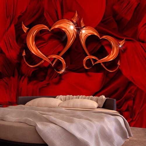 Fotomurale - Two hearts - Quadri e decorazioni
