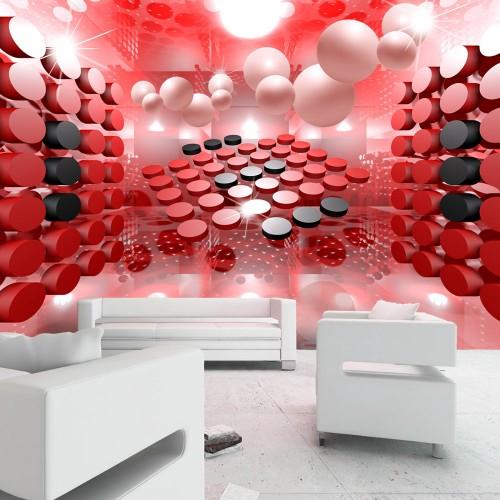 Fotomurale - Playing in red and black - Quadri e decorazioni