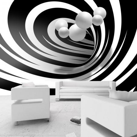 Fotomurale - Twisted In Black & White - Quadri e decorazioni