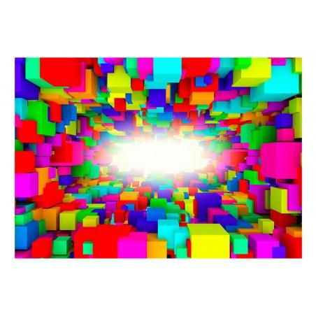 Fotomurale - Light In Color Geometry - Quadri e decorazioni