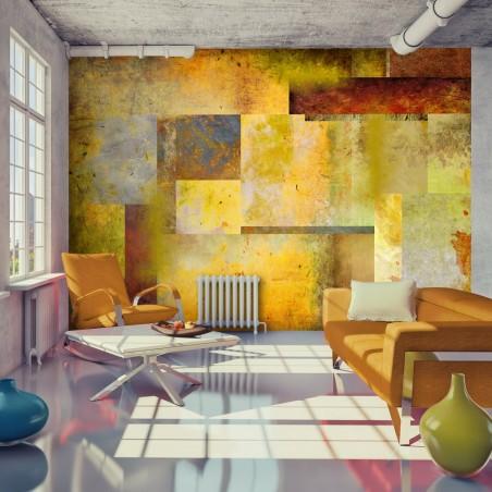 Fotomurale - Orange Hue of Art Expression - Quadri e decorazioni