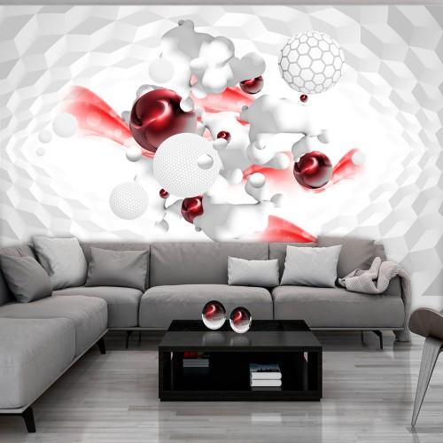 Fotomurale - Race of Colours - Red - Quadri e decorazioni