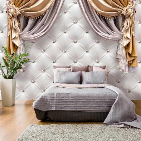 Fotomurale - Curtain of Luxury - Quadri e decorazioni