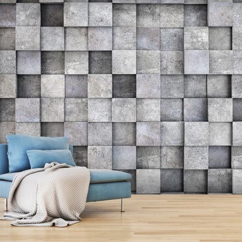 Fotomurale - Concrete Cube - Quadri e decorazioni