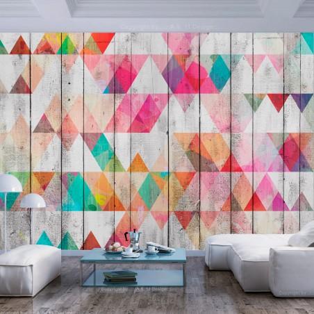 Fotomurale - Rainbow Triangles - Quadri e decorazioni
