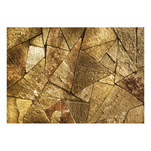 Fotomurale - Pavement Tiles (Golden) - Quadri e decorazioni