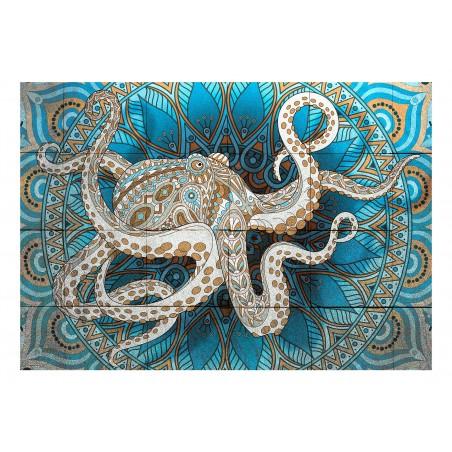 Fotomurale - Zen Octopus - Quadri e decorazioni