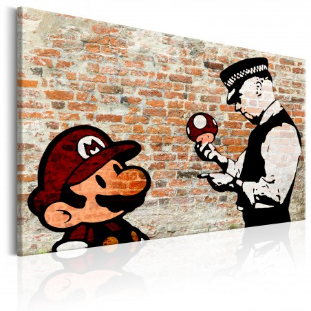 Quadro - Banksy: Police Caution - Quadri e decorazioni